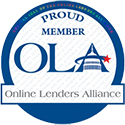 seal of official Online Lenders Alliance membership